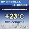 Ну и погода в Тюмени - Поминутный прогноз погоды